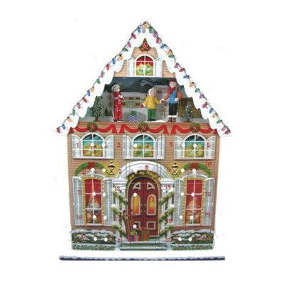 Home Bazaar Christmas Carolers Advent Calendar