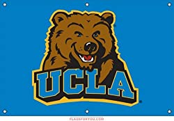 UCLA Bruins Indoor/Outdoor Fan Banner 3 ft x 2 ft NCAA College Athletics Fan Shop Sports Team Merchandise