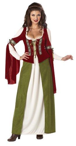 California Costumes Maid Marian Dress