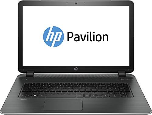 HP Pavilion 17-f217ng 43,9 cm (17,3 Zoll) Laptop (Intel Core i5-5200U, 2,2GHz, 8GB RAM, 750GB HDD, GF 830M, DVD, kein Betriebssystem) silber