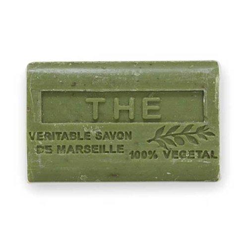 (南仏産マルセイユソープ)SAVON de Marseille お茶の香り(SP052)(125g)