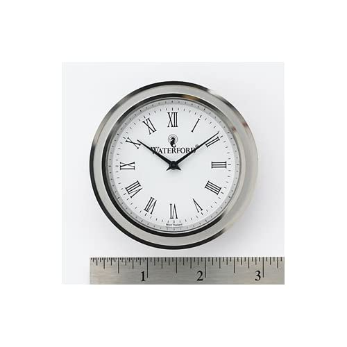 Amazon.com - Waterford Clock Face Insert, Large Round, Roman Numerals ...