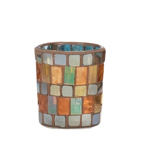 Yankee Candle Votive Holder - Warm Glow Mosaic - HGM600