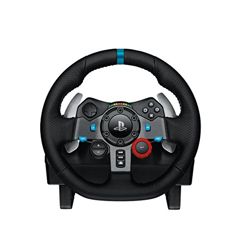 Logitech G29 Driving Force Volante da Corsa per PS4, PS3 e PC, Nero