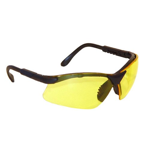 Radians Revelation Protective Shooting Glasses (Amber Yellow Lens/Black Frame)