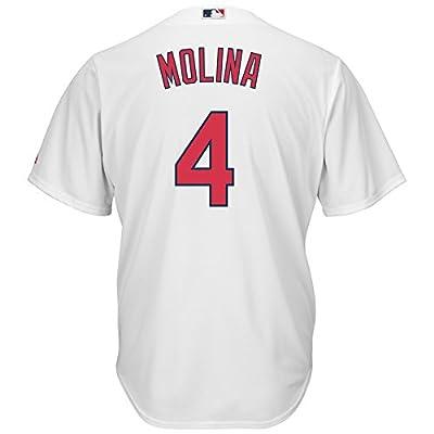 Yadier Molina St. Louis Cardinals #4 MLB Youth Cool Base Home Jersey