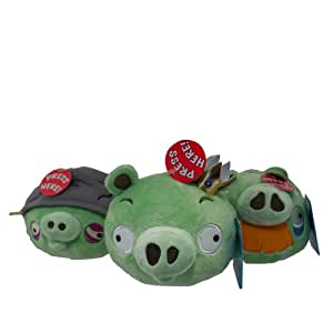 Commonwhealth angry birds peluche sonore 3 cochons - Cochon angry bird ...