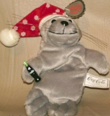 Coca-cola Bean Bag Plush Seal in Snowflake Hat # 0102 - Buy Coca-cola Bean Bag Plush Seal in Snowflake Hat # 0102 - Purchase Coca-cola Bean Bag Plush Seal in Snowflake Hat # 0102 (Coca Cola, Toys & Games,Categories,Stuffed Animals & Toys,More Stuffed Toys,Figures)