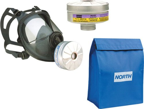 Complete Respirator Assembly, Includes 54401 Facepiece, One 40Rcp100 Riot Control Cartridge And 76Bag Carry Bag, Size Small