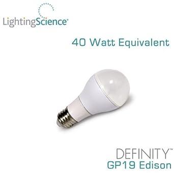 Lighting Science Definity Gp19 - 6 Watt - 40 Watt Replacement