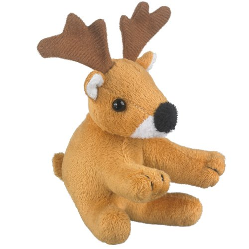 Whitetailed Deer Stuffed Whitetailed Deer Toy By Wild Life Artist Buck Antler - 1