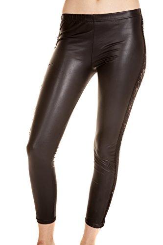 Unique Amazing Sexy Womens Leather Leggings (Costco Steamer compare prices)