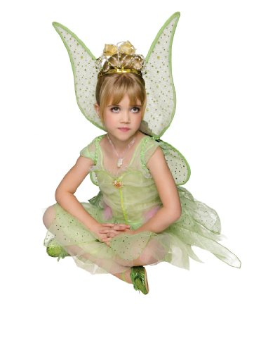Rubies Green Woodland Fairy Deluxe Costume, Child Medium