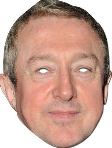 Partyrama Louis Walsh Celebrity Cardboard Mask - Single - 1