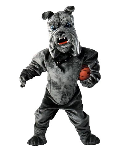 Bully Bulldog Mascot Costume