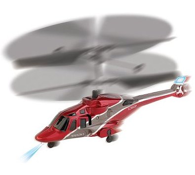Propel Toys Red Stealth Flyer II Remote Control Helicopter For Indoor Flying