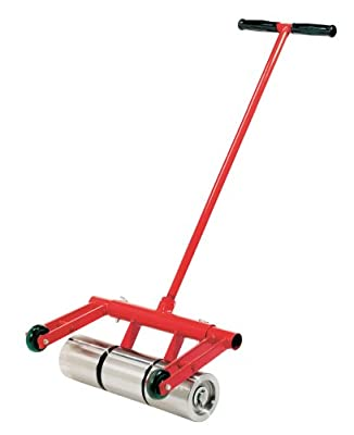 Roberts 10-950 75-Pound Heavy Duty Vinyl and Linoleum Floor Rollers with Chrome Plated Rollers and Removable Handle for Easy Storage