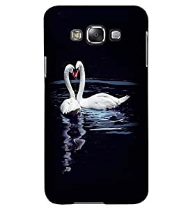 Printvisa Duck Love Pair Back Case Cover for Samsung Galaxy Grand Max G720