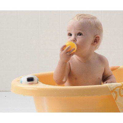 piyo piyo deluxe baby bathtub yellow toddler bathing bathtubs seats. Black Bedroom Furniture Sets. Home Design Ideas