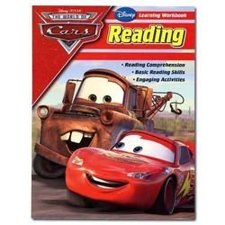 Disney Pixar The World of Cars Reading Learning Workbook
