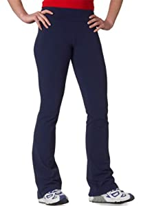 Bella Ladies 8 oz. Cotton/Spandex Fitness Pant from Bella