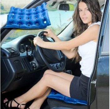 Driver's Seat Cushion Bleacher Pillow Pain Relief for Coccyx Sciatica Tailbone Lower Back