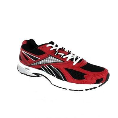 Reebok Mens Pheehan Run Red Black White Silv Lowtop Shoes,11.5 D(m)