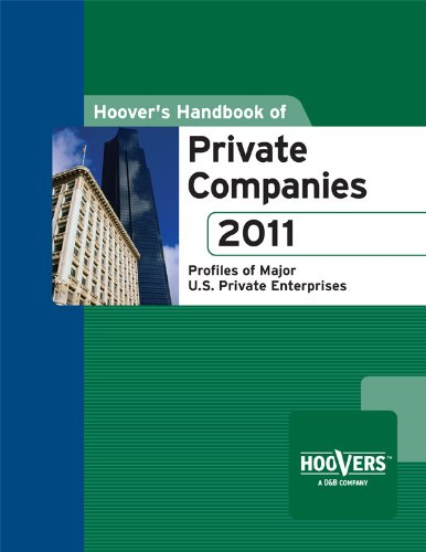 Hoover'S Handbook Of Private Companies 2011 front-552998