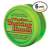 OKeeffes Working Hands Creme Six Pack