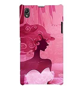 EPICCASE classy fairy Mobile Back Case Cover For Sony Xperia Z1 (Designer Case)