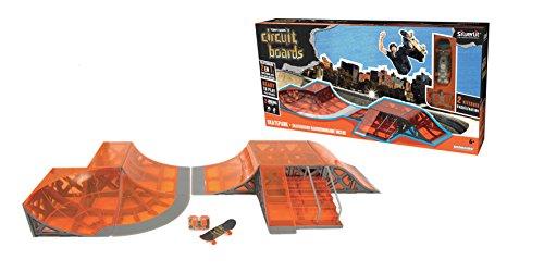 Silverlit - A1505484, Pista skatepark con mini skateboard radio-telecomandato