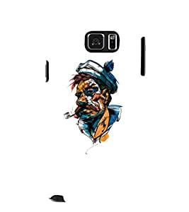 EPICCASE man with cigarette pipe Mobile Back Case Cover For Samsung Galaxy Note 5 (Designer Case)