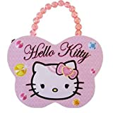 Butterfly 5in Pearl Handle Diamonds and Pearls Hello Kitty Tinbox - Hello Kitty Purse
