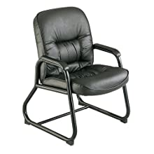 Safco Products Serenity Guest Chair, Black, 3473BL