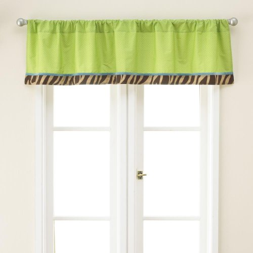 Zoo Zoo Window Valance - 58 in x 14 in