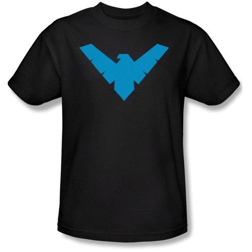 Nightwing Logo -- Batman Adult T-Shirt at Gotham City Store