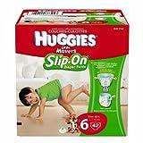 Huggies Little Movers Slip-On Diapers, Step 6, Big Pack 42 ea