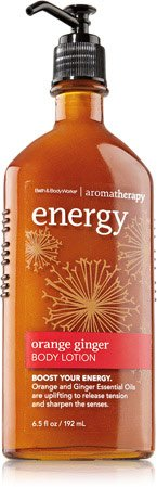 Bath & Body Works Aromatherapy Orange Ginger Energizing Nourishing Body Lotion 6.5 Oz