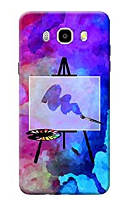 Samsung Galaxy On8 Case KanvasCases Premium Quality Designer Printed 3D Lightweight Slim Matte Finish Hard Case Back Cover for Samsung Galaxy On 8 + Free Mobile Viewing Stand