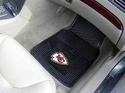 Exclusive By FANMATS NFL - Kansas City Chiefs Heavy Duty 2-Piece Vinyl Car Mats