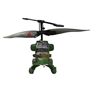Cobra R/C 2 Channel Mini Helicopter - Apache (Colors May Vary)
