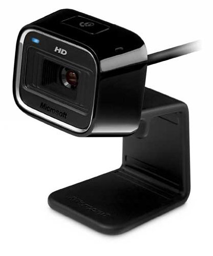 Webcam MICROSOFT LIFECAM HD5000 NOIR