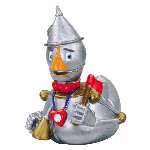 CelebriDucks Wizard of Oz Tin Woodsman RUBBER DUCK Bath Toy
