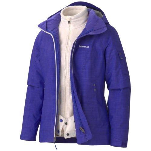 Marmot Women's Lindsey Component Jacket, Electric Blue, Medium