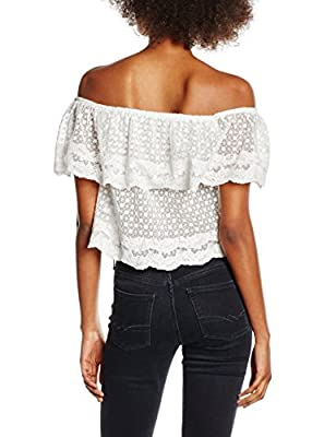 New Look Women's Salsa Lace Bardot Tops