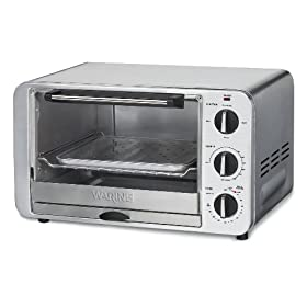 Waring Pro TCO600 1500-Watt 6-Slice Convection Toaster Oven