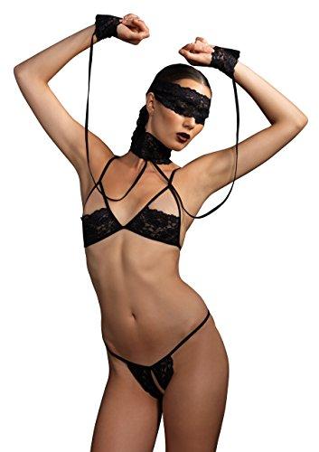 leather adjustable handcuffs blindfold flirting bnbujjq