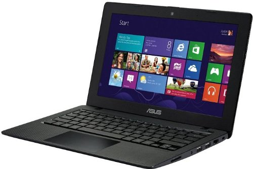 Asus 90NB04U6-M00780 F200MA-CT068H 29,5 cm (11,6 Zoll) Netbook (Intel Celeron N2815, 1,8GHz, 4GB RAM, 500GB HDD, Intel HD, Touchscreen, Win 8) schwarz