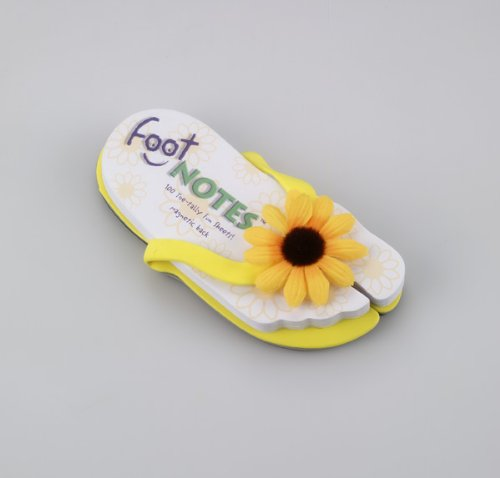 Thinking Gifts Footnotes Deluxe - Yellow Sunflower