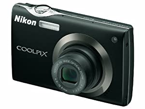 Nikon - Coolpix S4000 - Digital camera - compact - 12.0 Mpix - optical zoom: 4 x - supported memory: SD, SDHC - black